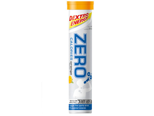 Dextro Energy Zero Calories Elektrolytische tabletten 20x4g, Orange